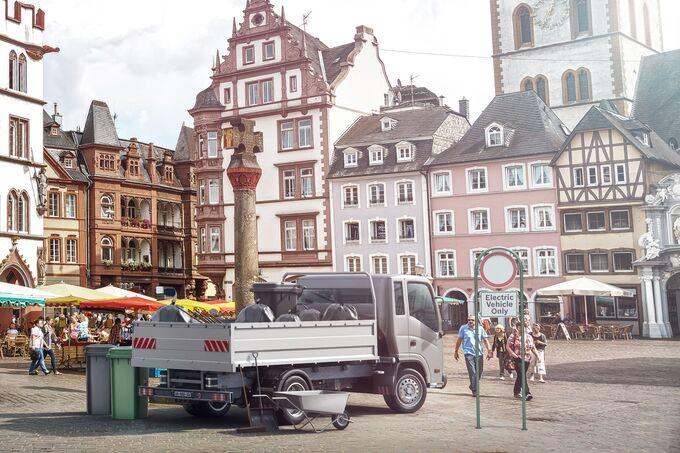 Bosch eCityTruck