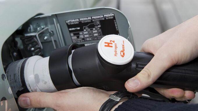 Brennstoffzelle, WAsserstoff, Tankstelle