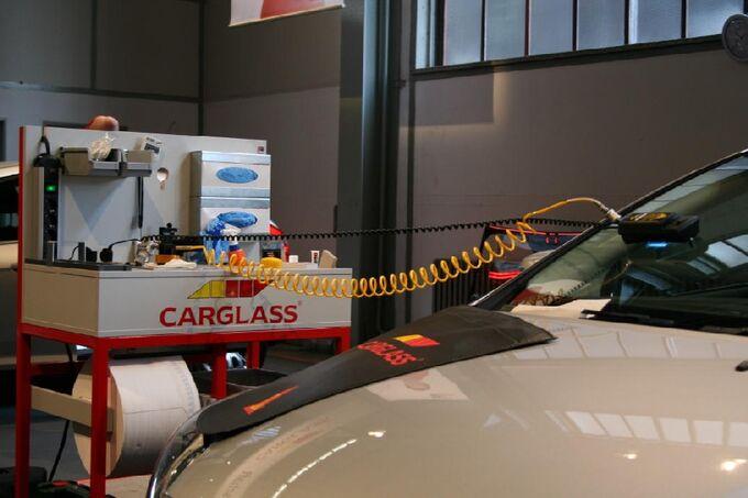 Carglass Wettbewerb Härten