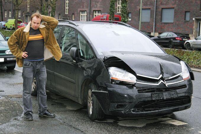 Citroen Unfall