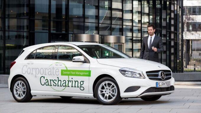 Daimler Fleet Management, Corporate Carsharing