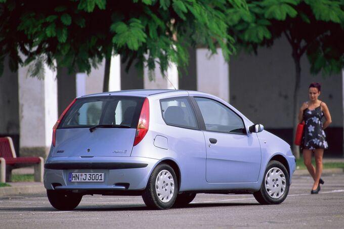 Der Nuova Punto (Typ 188) startete 1999 passgenau zum 100. Geburtstag von Fiat.