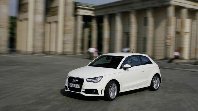 Der smarte Fuhrpark:  ?Audi shared fleet? erobert die Hauptstadt