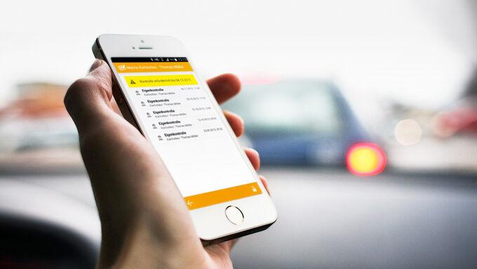 Drivers Check App basierte Führerscheinkontrolle
