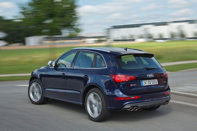 Fahrbericht Audi SQ5 TDI Quattro, Doppelauspuff, Spoilern