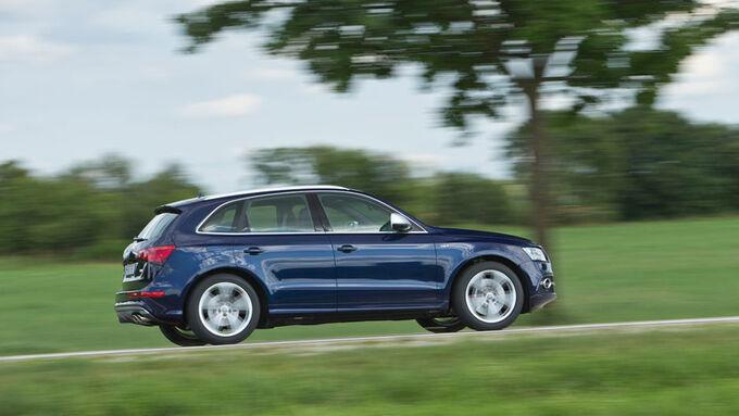 Fahrbericht Audi SQ5 TDI Quattro, kompakte SUV