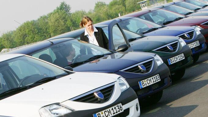 Fahrer-Direktkommunikation, Flotte