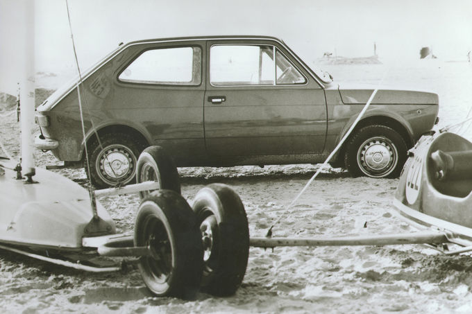 Fiat 127, Sand
