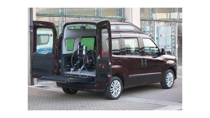Fiat Doblò mit Hochdach lieferbar