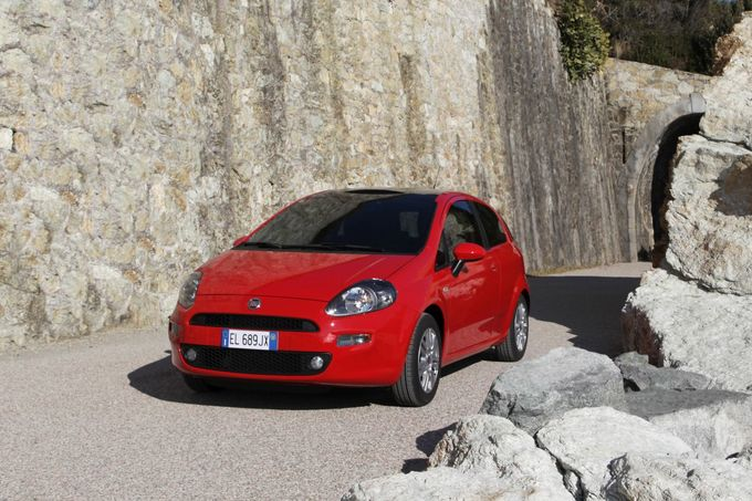Fiat Punto 1.4 8V Natural Power 2012