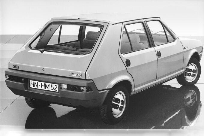 Fiat Ritmo, Rückleuchten