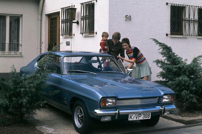 Ford Capri, Familie