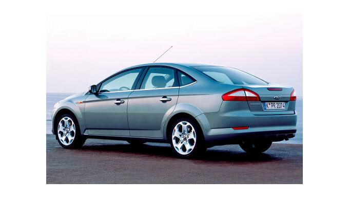 Ford Mondeo mit Autogas-Antrieb