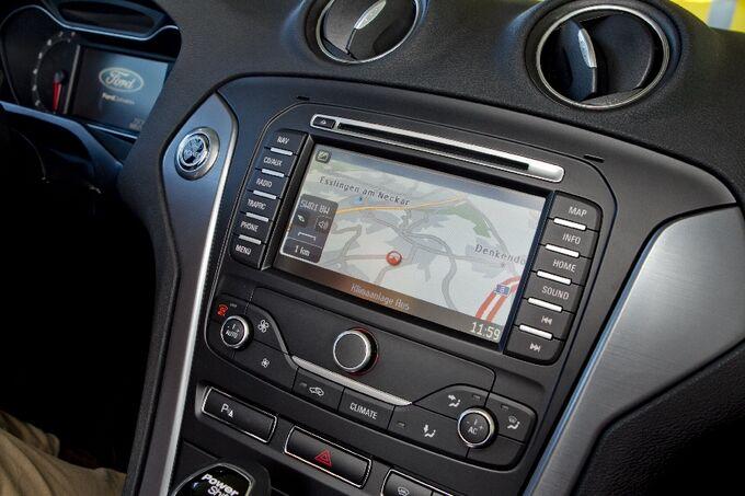 Ford Mondeo navigation