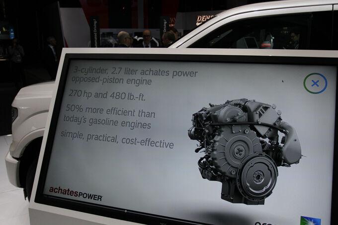 Gegenkolbenmotor Ford F-150 2018