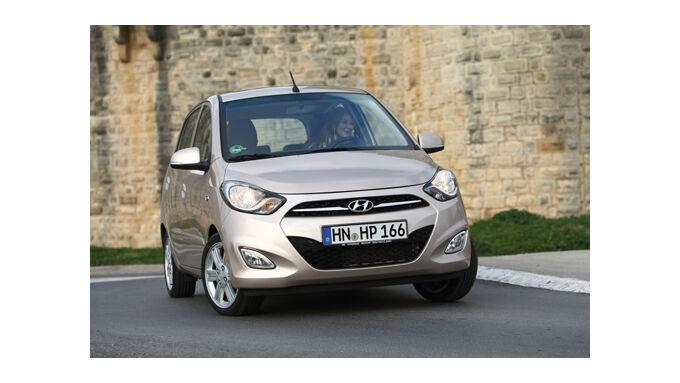 Hyundai i10 bekommt Facelift
