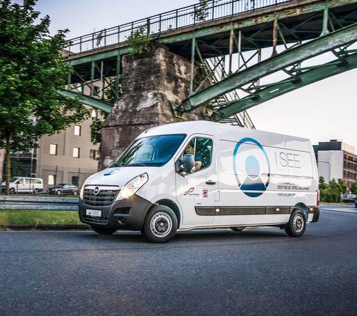 I See Trucks, e-Movano, Elektrotransporter,