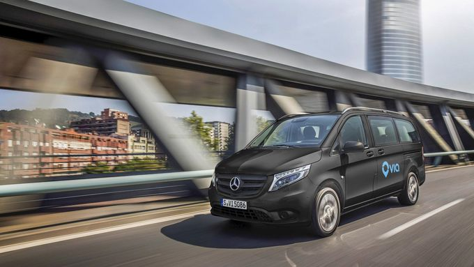 Innovatives On-Demand Ride-Sharing-Angebot startet in Europa: Mercedes-Benz Vans gründet Joint Venture mit US-Startup Via