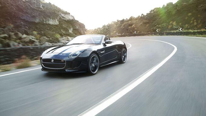 Jaguar F-Type V8 S von vorne links