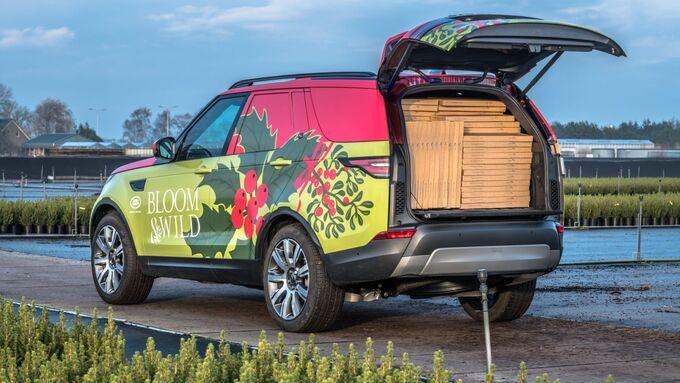 Land, Rover, Discovery, Lieferwagen, 2017,