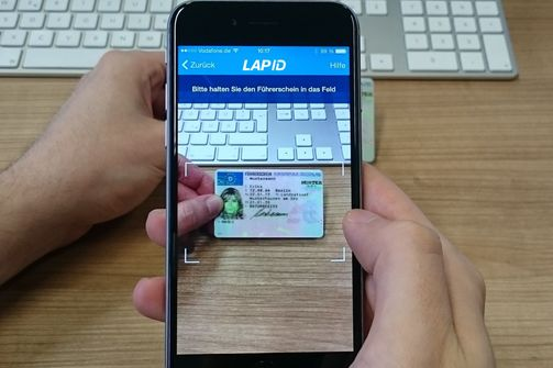 LapID Manager App