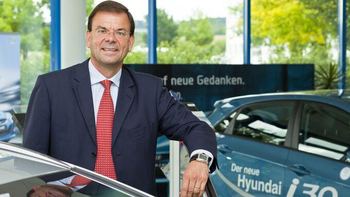 Markus Schrick, Geschäftsführer Hyundai Motor Deutschland