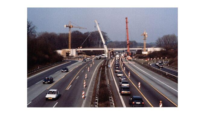 Mehr Bautstellen an Autobahnen