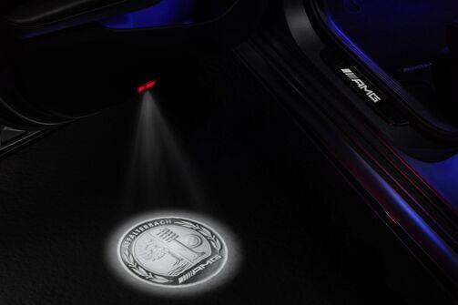 Mercedes-AMG LED Projektor 2017