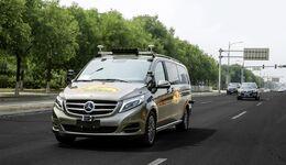 Daimler darf in Peking erproben