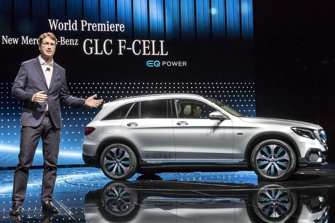 Mercedes GLC F-Cell IAA 2017