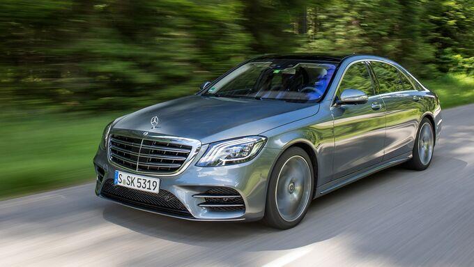 Mercedes, S-Klasse, Facelift, 2017