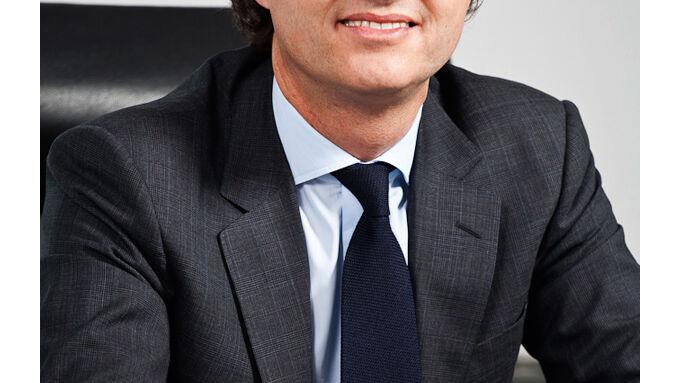Michael Schwöbel, Vorsitzender der Geschäftsführung von Pirelli Deutschland