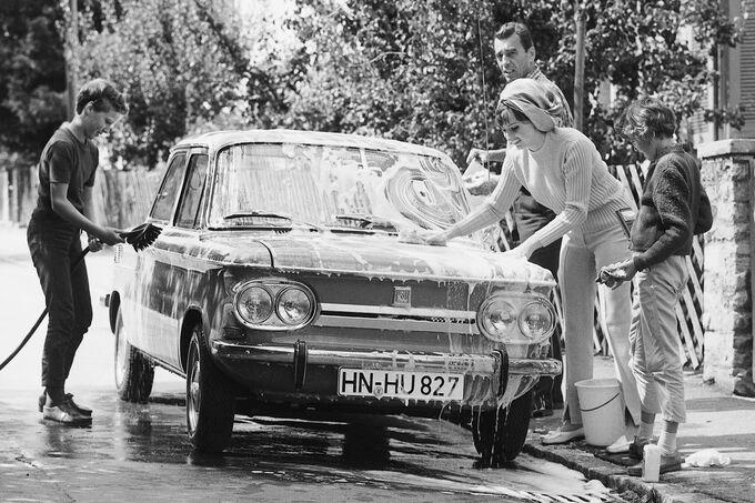 NSU Prinz, Car Wash