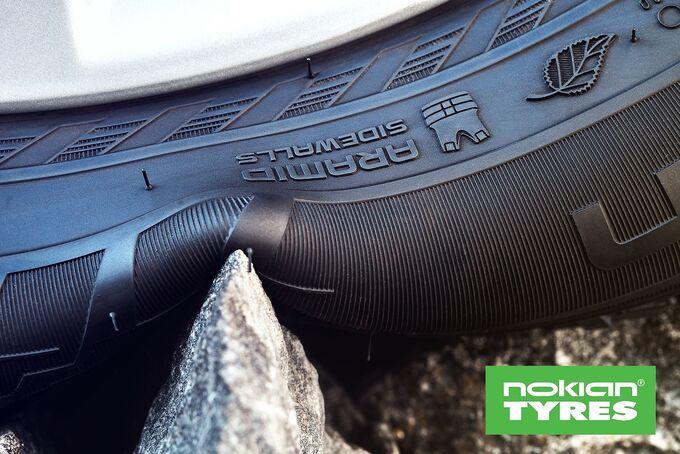 Nokian Tyres, Aramid Technologie, Transporterreifen