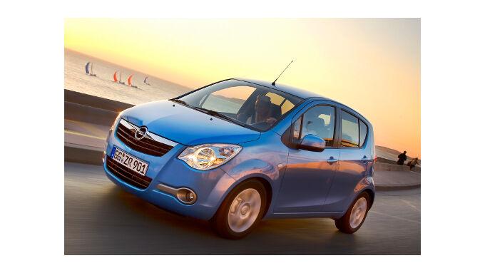 Opel Agila ist wertbeständig