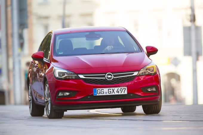 Opel Astra 1.4 CNG 2016