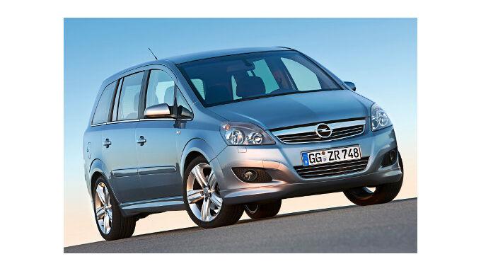 Opel Zafira: Drei kostenlose Inspektionen