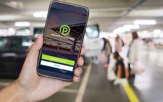 Parkmobile App von BMW