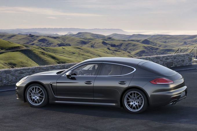 Porsche, Panamera, Facelift, 2015