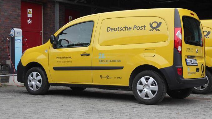 Post, Elektroauto, Renault Kangoo rApi Z.E.