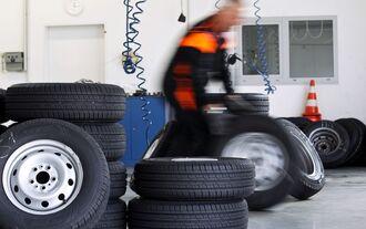 Reifenlagerung