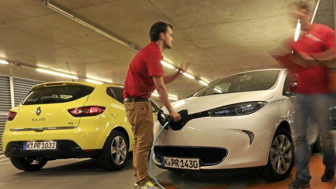 Renault Clio Tce 90 gegen Renault Zoe