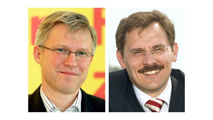 Roland Keppler (links), Philippe Guyot