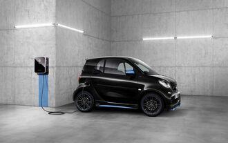 Smart EQ Fortwo 2018, Ladesäule, laden, E-Auto, Elektroauto, aufladen