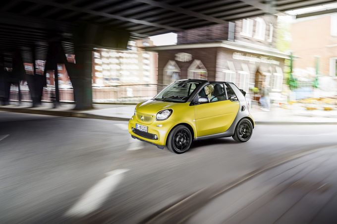 Smart Fortwo Cabriolet