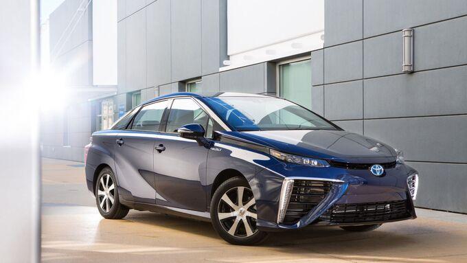 Toyota Mirai Brennstoffzellenauto Wasserstoff Elektroauto