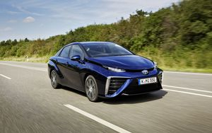 Toyota Mirai FCV Fuel Cell Vehicle Brennstoffzellenauto