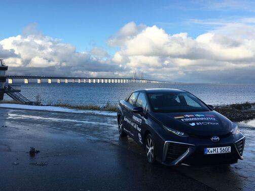Toyota Mirai Firmenauto Fuel Cell Tour Brennstoffzelle