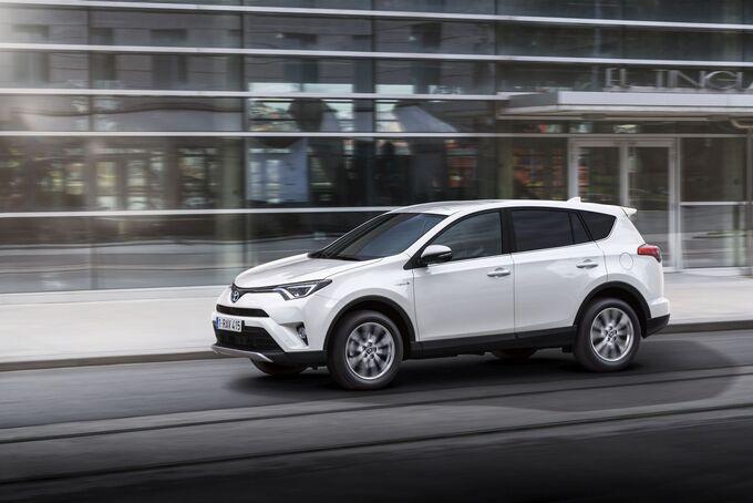 Toyota RAV-4 2.5 VVT-i Hybrid 2016