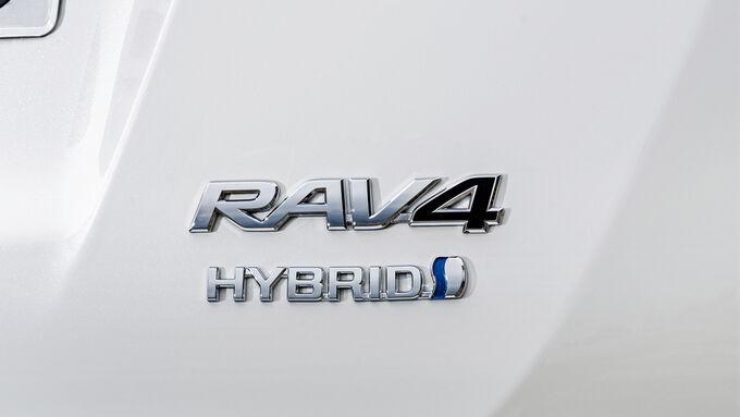 Toyota RAV4 Logo Hybrid